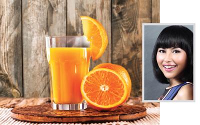 Go Orange, Resep Jus Buah Sehat dari Putri Miranti