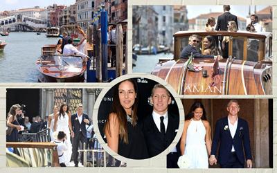 Pernikahan 'Rahasia' Pasangan Atlet Ana Ivanovic & Bastian Schweinsteiger