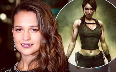Alicia Vikander Merebut Peran Lara Croft dari Angelina Jolie