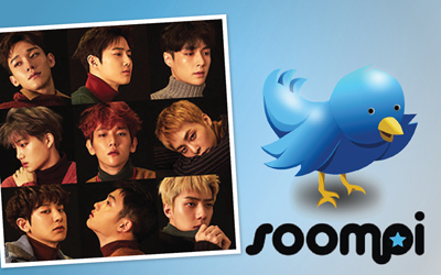 Akun Twitter Resmi EXO Raih 1 Juta Followers, Twitter & Soompi Gelar Kompetisi Fan Art Global