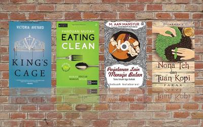 4 Buku Wajib Baca Minggu Ini: Mulai Dari Perjalanan Lain Menuju Bulan Hingga Panduan Mudah Eating Clean