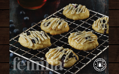 Resep Blueberry Yoghurt Biscuit