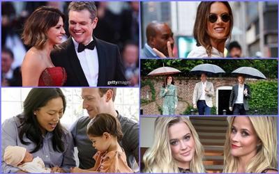 10 Momen Selebritas Minggu Ini: Gwyneth Paltrow Merayakan Ulang Tahun Cameron Diaz Hingga Kemesraan Matt dan Luciana Damon