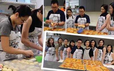 Serunya Belajar Roti Bersama Hadi Tuwendi di Sugar World Academy