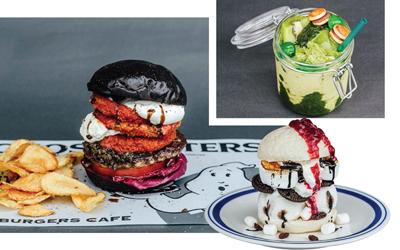 Demam Ghostbusters Burger di Jepang