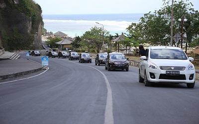 Melintasi Bali Selatan dengan Suzuki All New Ertiga