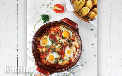 Resep Tomato Poached Egg