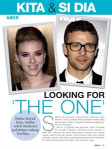 Looking for 'The One'