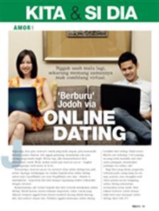 Berburu Jodoh Via Online Dating