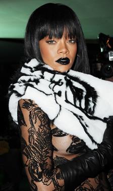 Rihanna's Lipstick Gallery