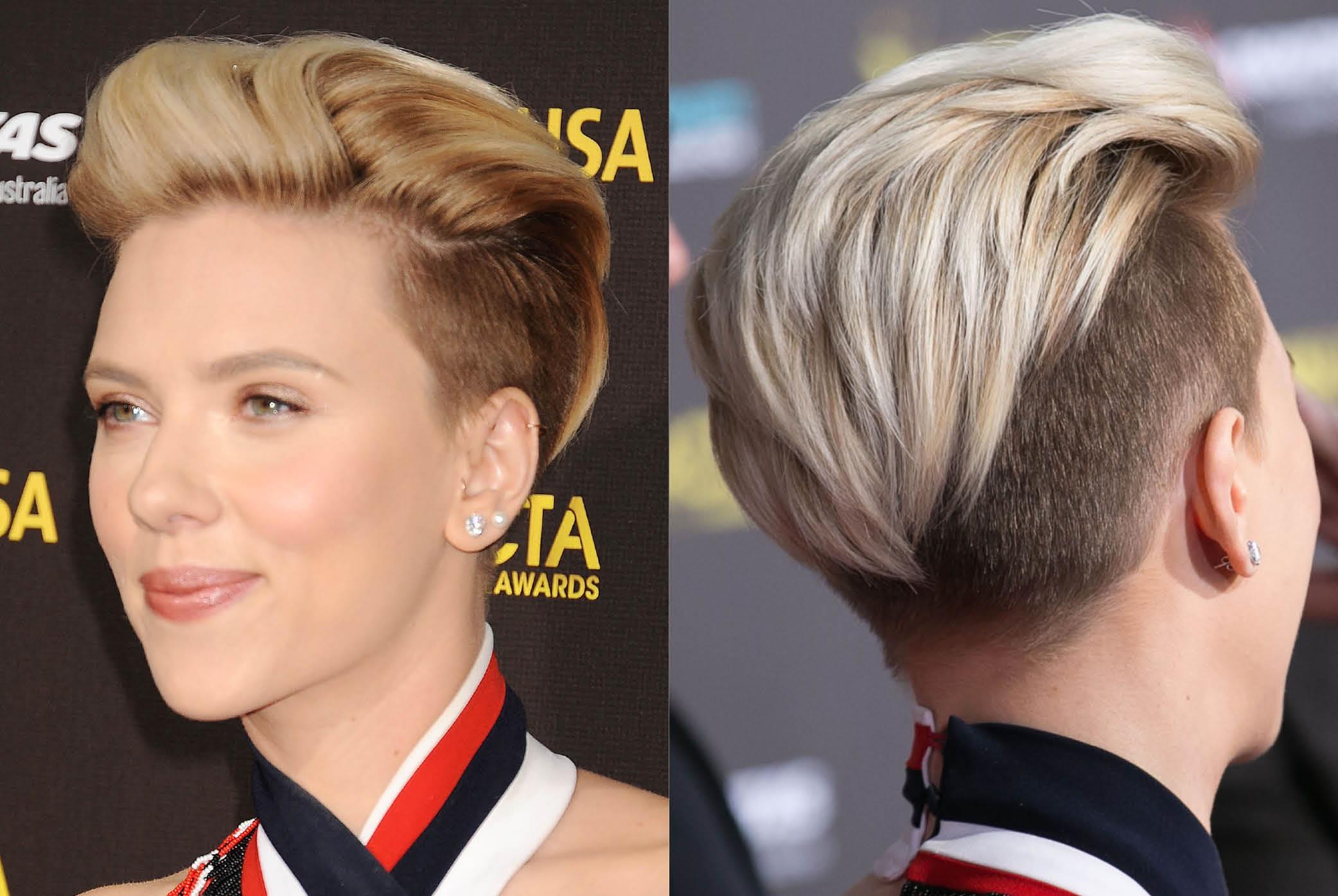 Inspirasi Rambut Baru - Gaya rambut pendek demi lovato
