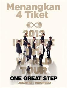 Menangkan 4 Tiket Konser Infinite