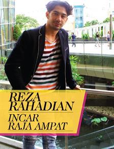 Reza Rahadian Incar Raja Ampat
