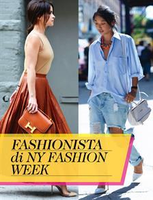Fashionista di NY Fashion Week
