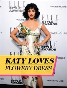 Katy Loves Flowery Dresses