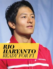 Rio Haryanto Ready for F1