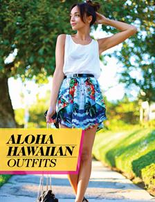 Just In: Hawaiian Outfits