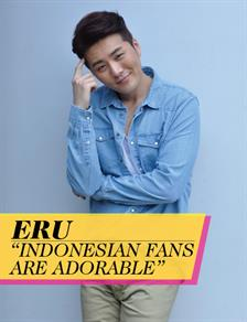 """Eru """"Indonesian Fans are Adorable"""""""