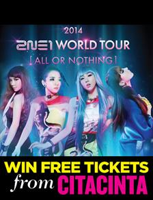 2014 2NE1 WORLD TOUR: ALL OR NOTHING