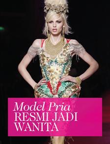 Model Pria Androgyny Kini Seorang Wanita