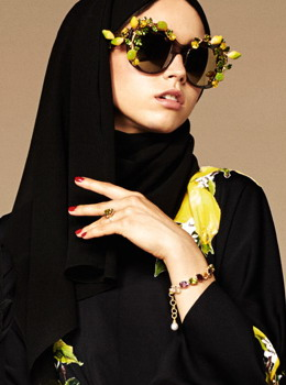 Abaya dan Hijab Versi Dolce & Gabbana