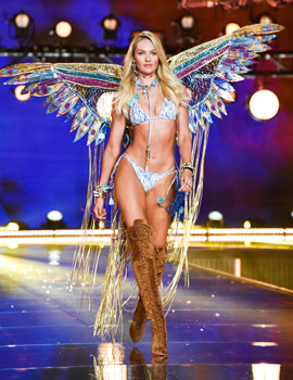 15 Parade Gaya Terbaru Victoria's Secret Angels
